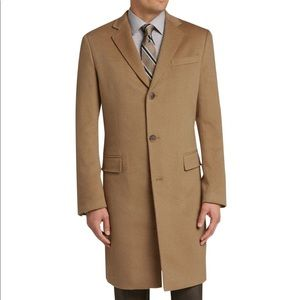 Jos. A. Bank Reserve collection cashmere topcoat